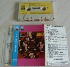 RARE K7 CASSETTE AUDIO TAPE THE BEATLES POR SIEMPRE BEATLES