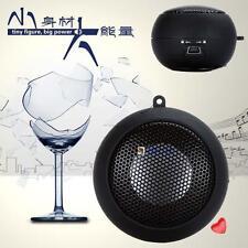 Portable Mini Hamburger Speaker For iPod iPhone Tablet Laptop PC MP3 Black BA