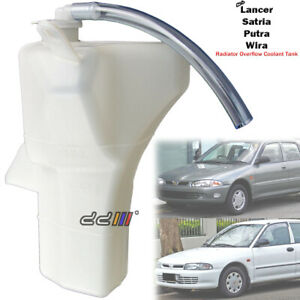 Radiator Overflow Bottle Coolant Tank For Mitsubishi Lancer CC EVO 1 2 3 CE9A