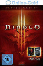 Diablo 3 Battle Chest - Battlenet Code D III Battlechest Key - PC MAC NEU DE/EU