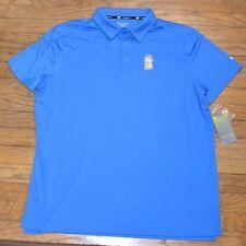 Tek Gear Cooltek Quick Dry Cobalt Blue Collar Polo Performance Golf Shirt Drytek