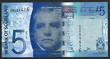 Bank of Scotland 2007 £5 Pk 124a CU