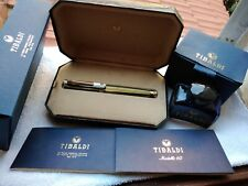 Tibaldi limited edition modello 60  celluloid fountain pen 18kt nib