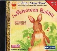 THE VELVETEEN RABBIT  Interactive Storybook  CD-ROM  Little Golden Book