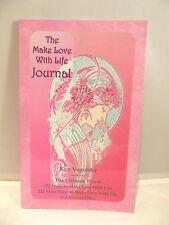 Vintage Make Love with Life Journal Ken Vegotsky Diary Keepsake Women