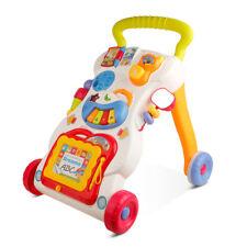 Laufwagen Lauflernhilfe Lauflernwagen Walker Baby Kinder mit Piano Gehfrei