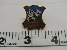Old Vintage Sliderock Mountain Park Pin Hat Collar Coat Pin Jewelry Costume Pins