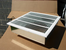 "20""x20"" furnace return air kit,with filter grille,box, and  16"" collar, HVAC."