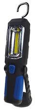Baladeuse LED COB 3W Socle amovible  Aimant fixation FONCTIONNE AVEC 3 PILES AA
