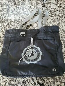 New Aerie American Eagle Tote Bag black light polyester $24 LOVE ON THE RUN