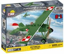 Fokker EV (D.VIII) - COBI 2976 - 155 brick fighter aircaft