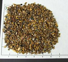 TIGEREYE GOLDEN CHIPS 5-15mm tumbled 1/2 lb bulk stones Tiger Eye gold
