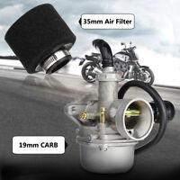19mm CRF Carburettor Carb Air Filter Choke For 50cc 90 100cc 110cc ATV Pit Bike