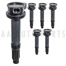 UF486 DG514 6 Pack Ignition Coil For 06-12 Ford Fusion & 09-12 Ford Escape 3L V6