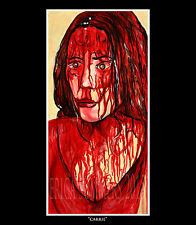 """CARRIE - 11x14"""" LIMITED EDITION Numbered Horror Icon Collection Print"""