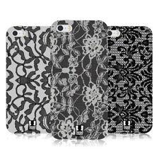 Cover e custodie nero Head Case Designs in silicone/gel/gomma per cellulari e palmari