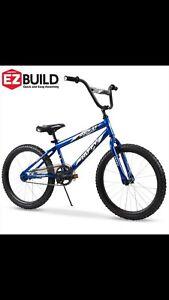 Huffy 20 Inch Boys Bike Rock It Boys' Bike, Royal Blue BRAND NEW IN ORIGINAL BOX