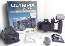 Olympia DL2000 Deluxe 35mm Camera Set 1:4.5 Japanese Lens w/Flash Original Box