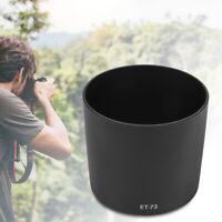 ET-73 Plastic Mount Lens Hood For Canon EF 100mm f/2.8L Macro IS USM Lens Set AP