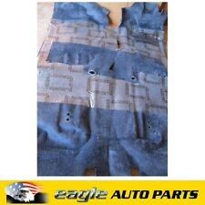HOLDEN SUBURBAN K8 RHD 98 99 00 CARPET FRONT & REAR BLUE NOS # 15018513