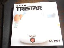 TRISTAR - Eierkocher mit Messbecher + Eiereinsatz + Piekser        - NEU & OVP -
