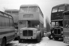 Wards epping unf11 depot in snow 6x4 Quality Bus Photo