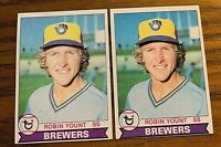 1979 Topps #95 Robin Yount - Brewers (2)
