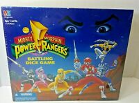 1994 Milton Bradley Saban's Mighty Morphin Power Rangers Battling Dice Game