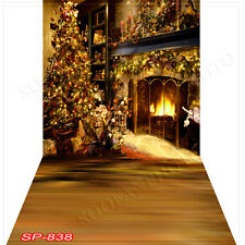 Christmas 10'x20' Computer-painted (CP)Scenic Vinyl Background Backdrop SP838B88
