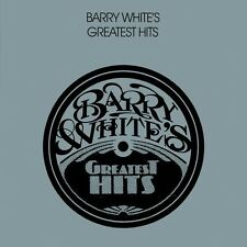 "BARRY WHITE ""GREATEST HITS"" CD NEUWARE!!!!!!!!!!!"