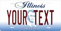 Illinois 2004 License Plate Personalized Custom Auto Bike Motorcycle Moped