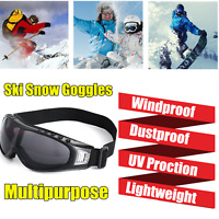 Pro Snow Skiing Eyewear Riding Glasses Snowmobile Sunglasses Anti-Wind Goggles