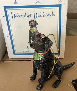 December Diamond's Spoiled Rotten 2006 Labrador Ornament