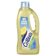 Cottee's Lemon No Added Sugar Cordial 1L