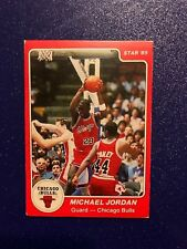 1984-1985 Star Michael Jordan Basketball Rookie Card #101 - Bulls aged reprint