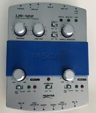 Tascam US-122 USB Audio/MIDI Interface, EC