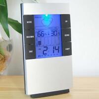 LCD Digital Thermometer Hygrometer Meter Indoor/Outdoor Temperature Humidity