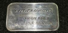 Engelhard Mint 1 Oz Silver Bar No Serial Number Frosted Reverse 5000 Minted Rare