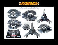 Star Wars Titanium Series Ultra Vehicles Federation Droid Fighter Vehicle MIB