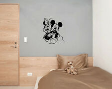 Mickey & Minnie Mouse Amor Disney Infantil Adhesivo para dormitorio pared imagen