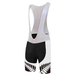 White Men's Cycling Ropa Ciclismo Jersey Short Bibs Shorts Pants Set Kits Padded