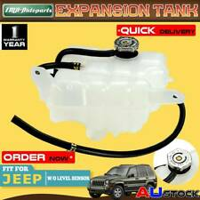 Coolant Expansion Tank Over flow Bottle for Jeep Cherokee KJ 3.7L 02-06 w/ Cap