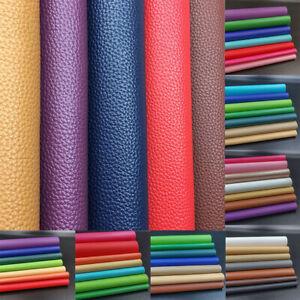 PU Leather Fabric Faux Leatherette Vinyl Car Interior Decor Bow Bag DIY Sewing