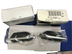 *NEW* GENUINE BMW M2 WING BADGES LEFT & RIGHT (PAIR)