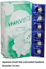 144 pcs Small S Size Dia 34 mm Width 52 mm Small Better Fit Condoms Japan F/S