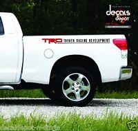 Decal Vinyl  Fits Toyota Tundra TRD Pro Crewmax 4x4 5.7L V8 BED STRIPES 2007-17