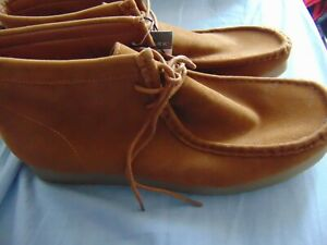 PRIMARK MENS SUEDE MOCCASIN  STYLE LACE UP BOOTS FASHION UK SIZE 11 NEW UNWORN
