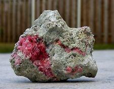 >>> Rhodochrosit/Pyrit Kristalle auf Matrix<<< >>> Sammlerstück !!! <<<