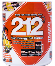 Muscle Elements 212 High Energy FAT BURNER,40 Servings, Black Lemonade,EXP:04/20