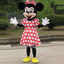 New Mickey Mouse Mascot Costume Adult Fancy Professional Halloween Size CA Hot